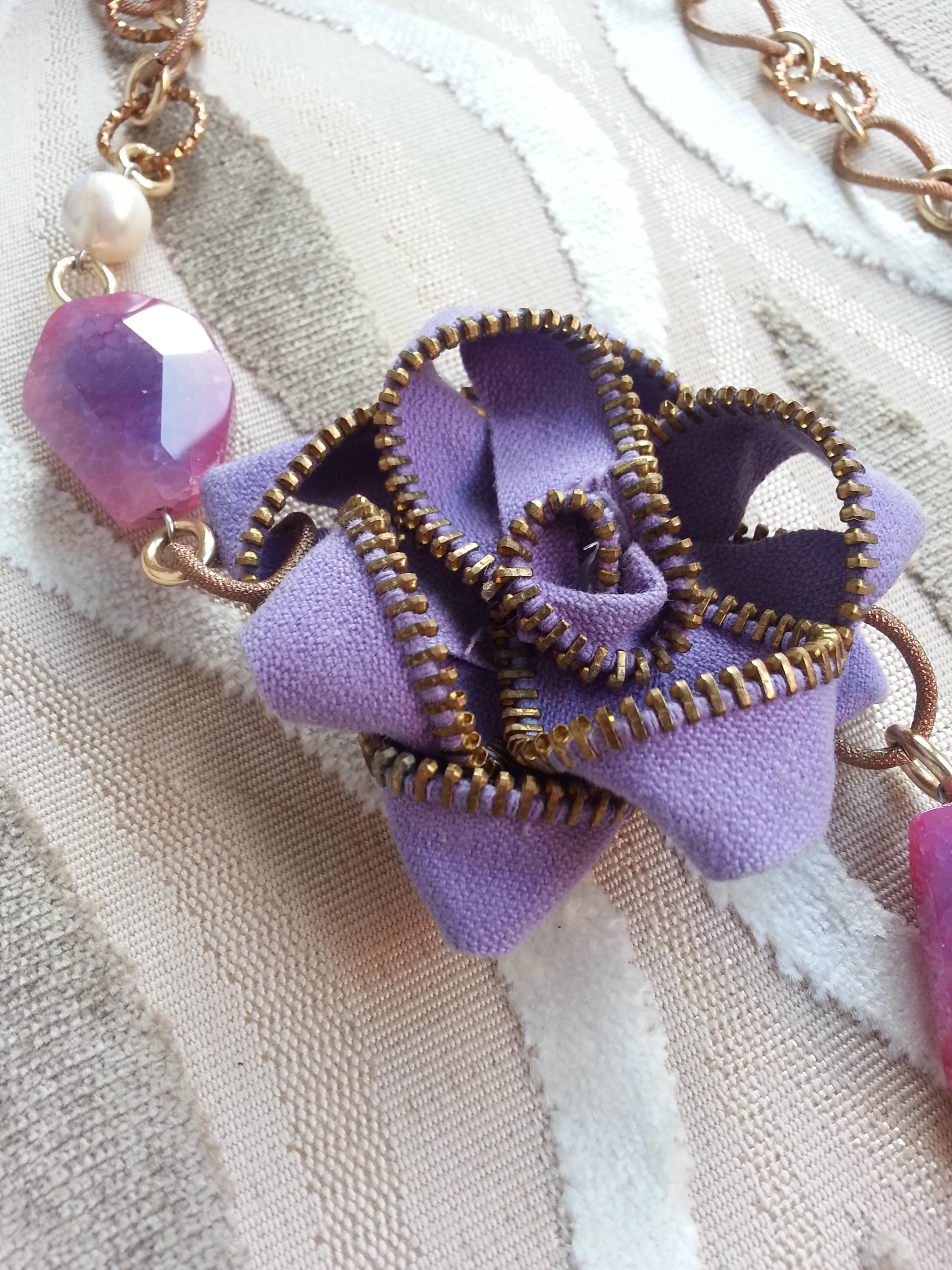 Fiorellane – collana con cerniere