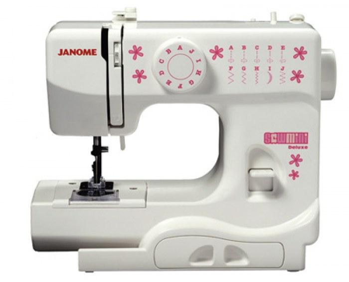 Macchina da cucire janome deluxe mini for Mini macchina per cucire