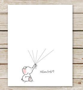 elephant-baby-shower-guest-book-print