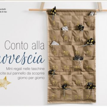 Calendario dell'Avvento – tutorial Burdastyle