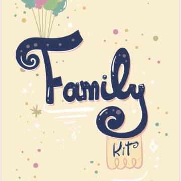 Family kit- giochi per bambini