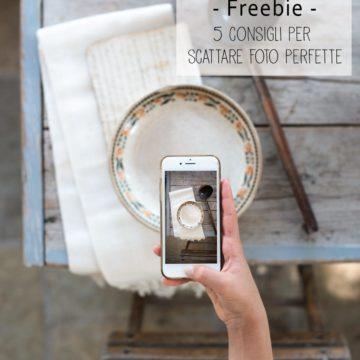 5 consigli per foto perfette