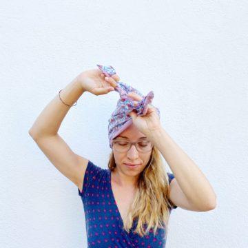 Turbacappello- turbante che copre tutta la testa